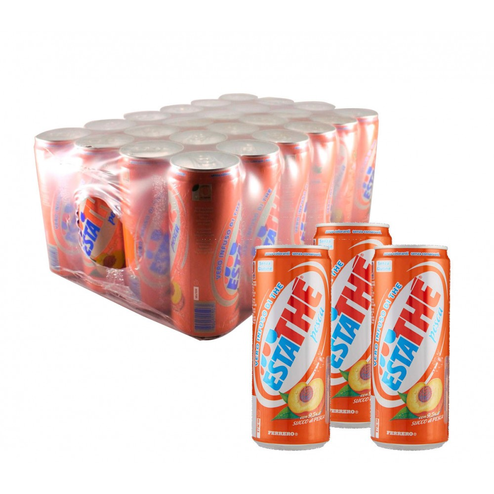 ESTATHE LATTINA 33CL PESCA (24 LATAS) FERRERO